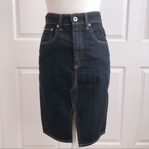 AG Emery Denim High Waist Pencil Skirt Size 4